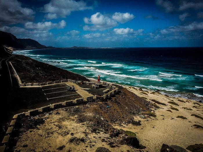 Drone Picture Sao Vicente (Cape Verde)