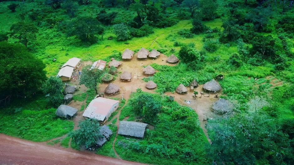Drone Picture Guinea itself