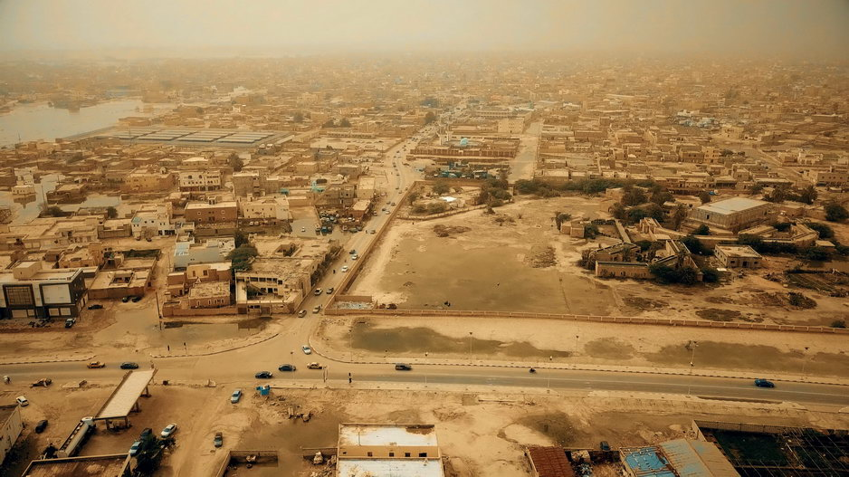 Drone Picture Mauritania itself