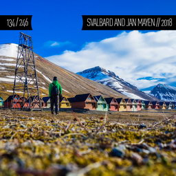 One Man Wolf Pack in Svalbard and Jan Mayen (First time visited in 2018 | #134)