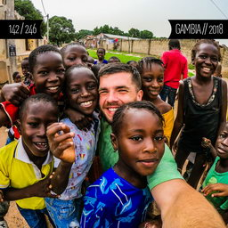 One Man Wolf Pack in Gambia (First time visited in 2018 | #115)
