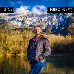 One Man Wolf Pack in Liechtenstein (First time visited in 2019)