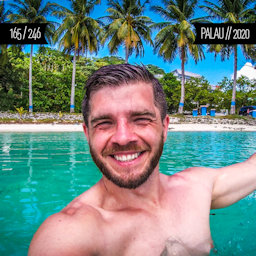One Man Wolf Pack in Palau (First time visited in 2020 | #6 in Oceania)