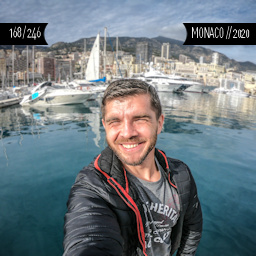 One Man Wolf Pack in Monaco (First time visited in 2020 | #139)