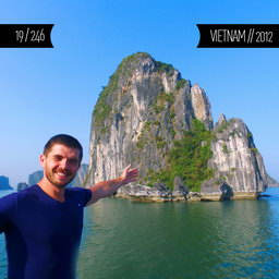 One Man Wolf Pack in Vietnam (First time visited in 2012)