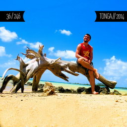 One Man Wolf Pack in Tonga (First time visited in 2014 | #3 in Oceania)