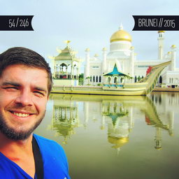 One Man Wolf Pack in Brunei (First time visited in 2015 | #50)