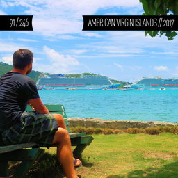 One Man Wolf Pack in American Virgin Islands (First time visited in 2017 | #18 in North America)