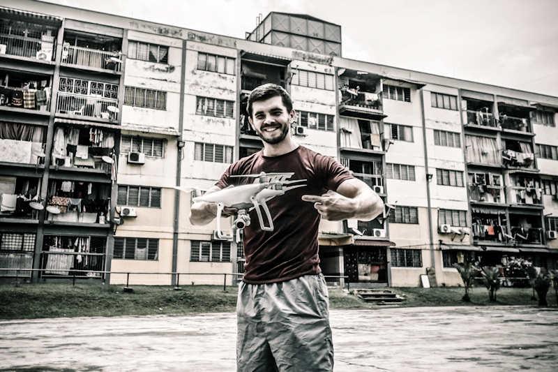 Miroslaw Wawak | One Man Wolf Pack Drone