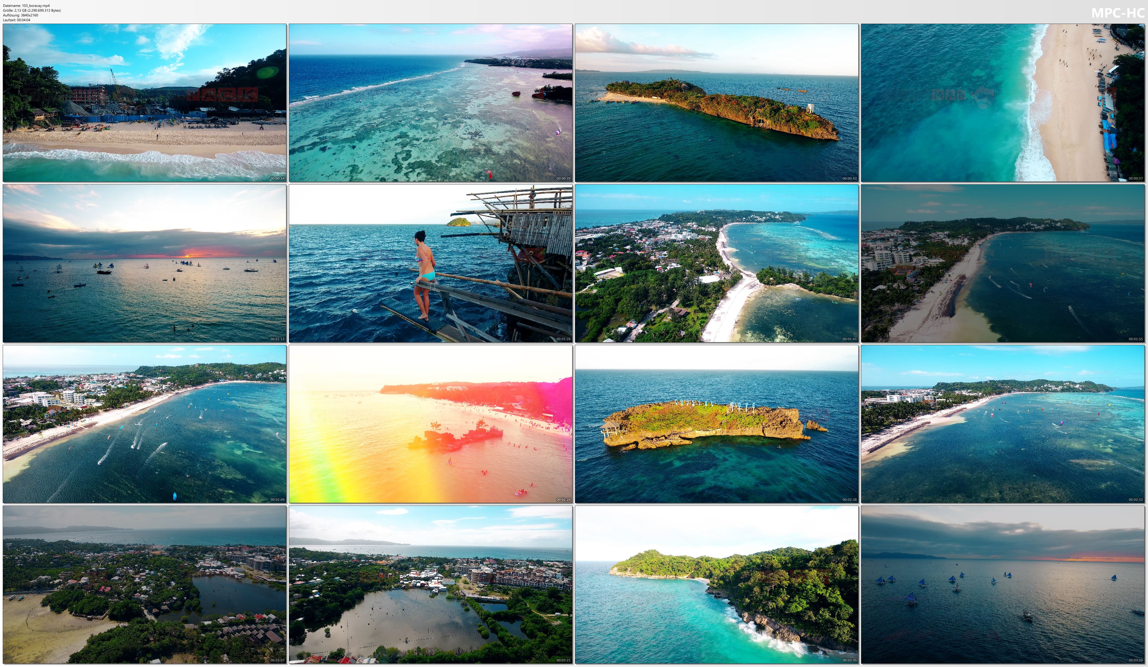 Drone Pictures from Video 【4K】Drone Footage | BORACAY ..:: Philippines Most Beautiful Island 2019
