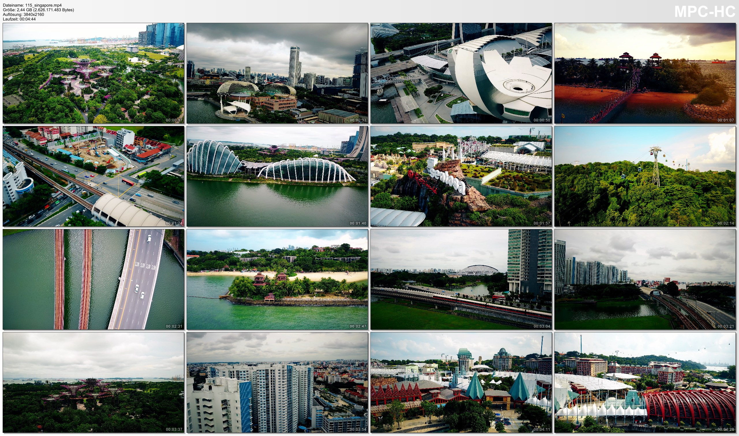 Drone Pictures from Video 【4K】Drone Footage | SINGAPORE 2019 ..:: The Lion City as you have NEVER SEEN BEFORE