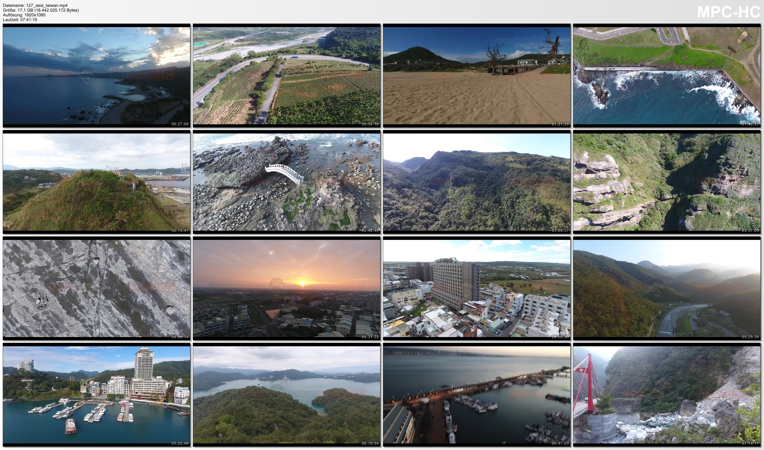 Drone Pictures from Video 【4K】Drone RAW Footage | TAIWAN 2019 ..:: Taroko Gorge :: Sun Moon Lake :: Keelung | UltraHD Video