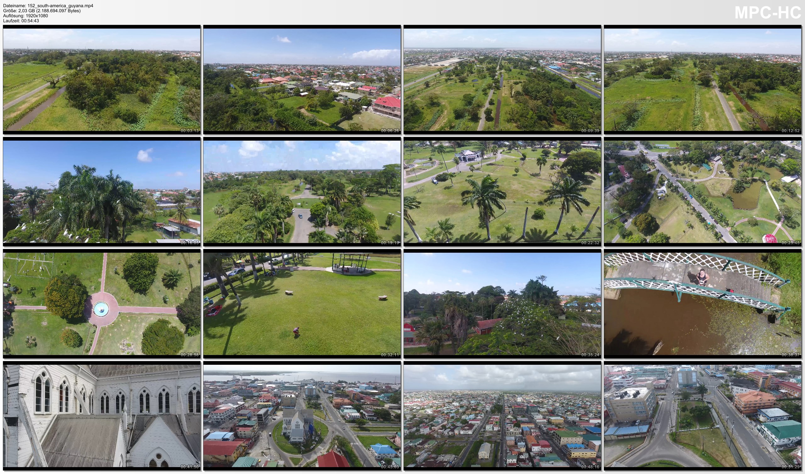 Drone Pictures from Video 【4K】Drone RAW Footage | GUYANA 2019 ..:: Georgetown | UltraHD Stock Video