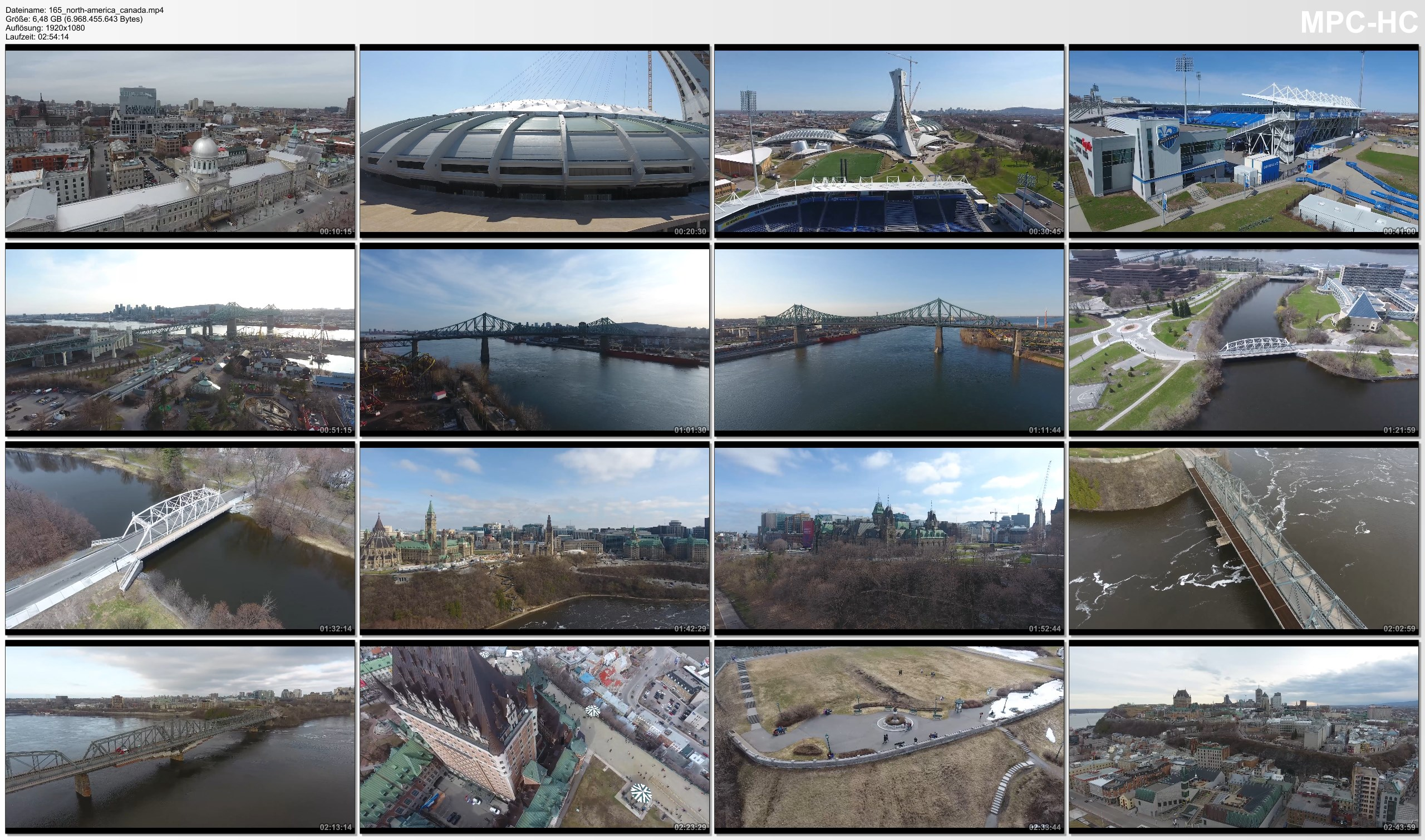 Drone Pictures from Video 【4K】Drone RAW Footage | CANADA 2019 ..:: Montreal :: Ottawa :: Quebec City | UltraHD Stock Video