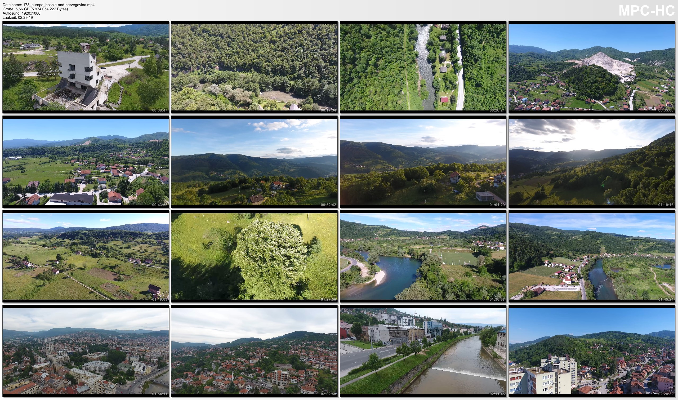 Drone Pictures from Video 【4K】Drone RAW Footage | BOSNIA AND HERZEGOVINA 2019 ..:: Sarajevo :: Zenica | UltraHD Stock Video