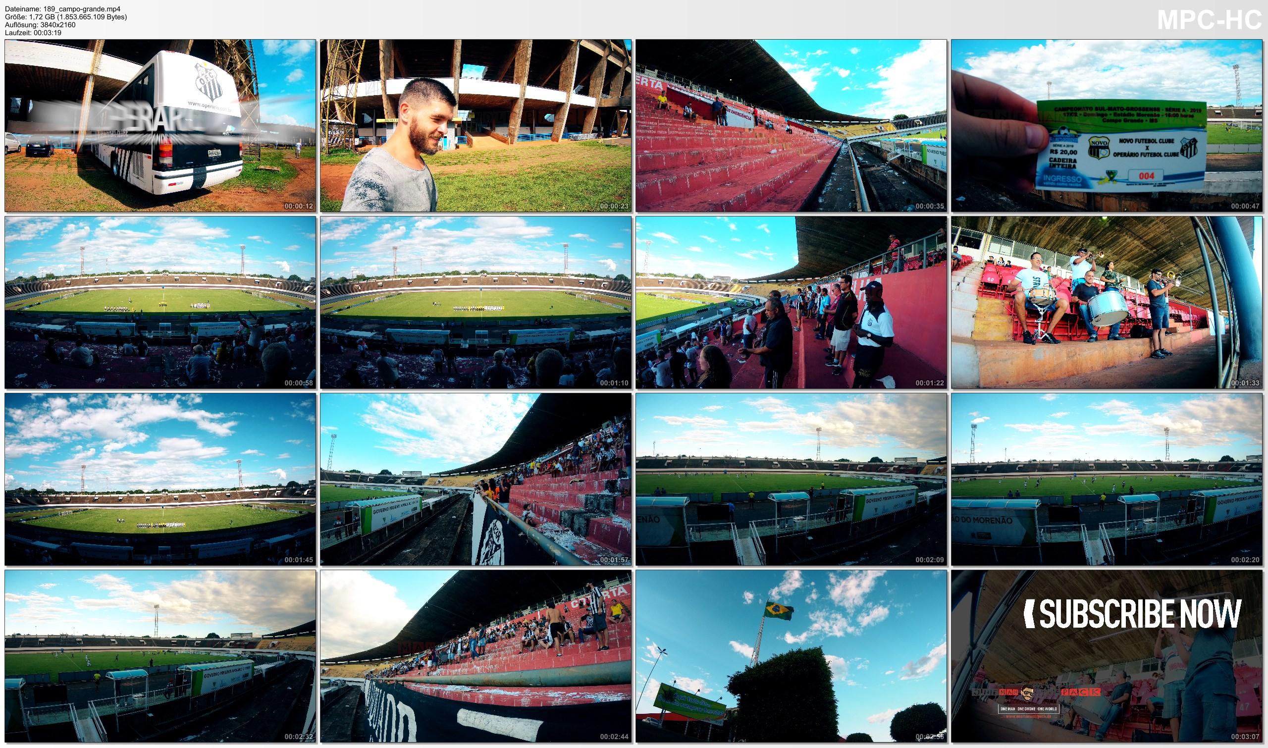 Pictures from Video 【4K】Groundhopping Footage   NOVOPERARIO x OPERARIO 0x2 ..:: Estadio Morenao Campo Grande Brazil 2019