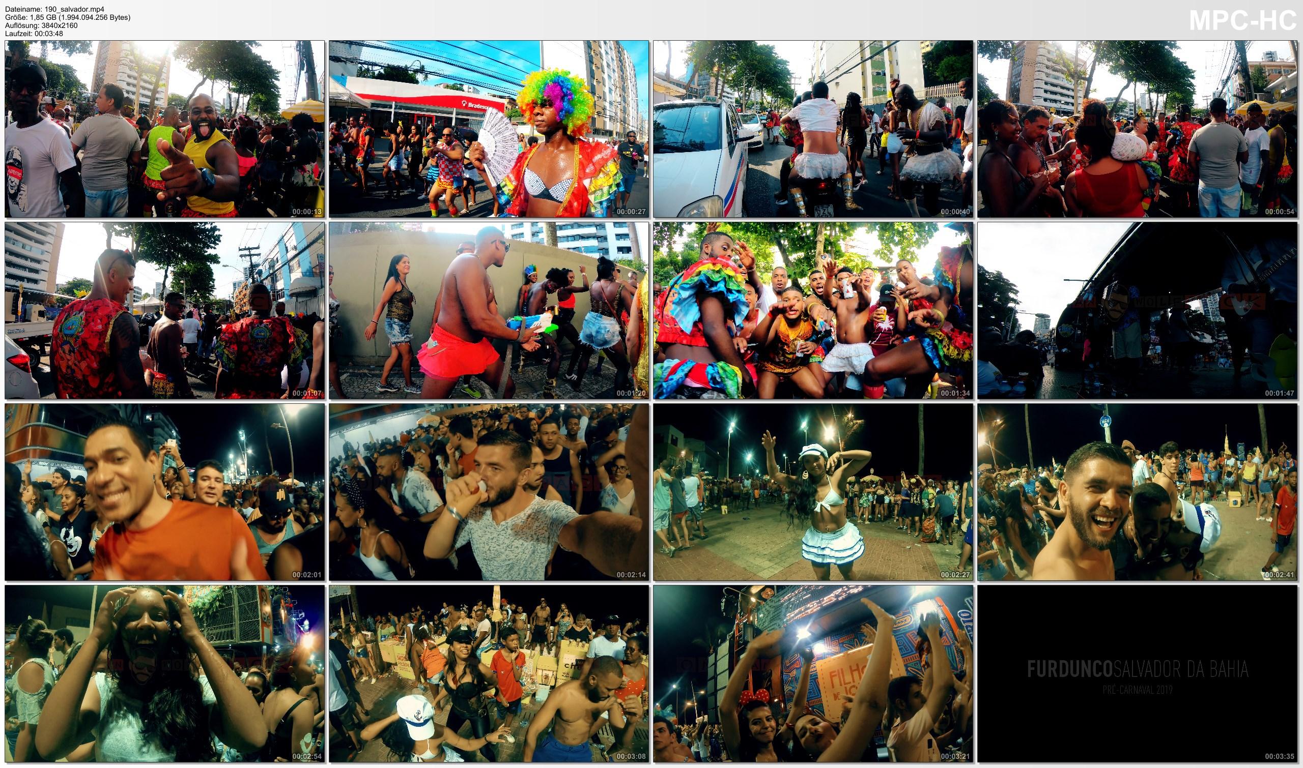 Pictures from Video 【4K】Footage | FURDUNCO Salvador da Bahia 2019 ..:: Pré-Carnaval Brasil 2019 | Barra Carnival Brazil