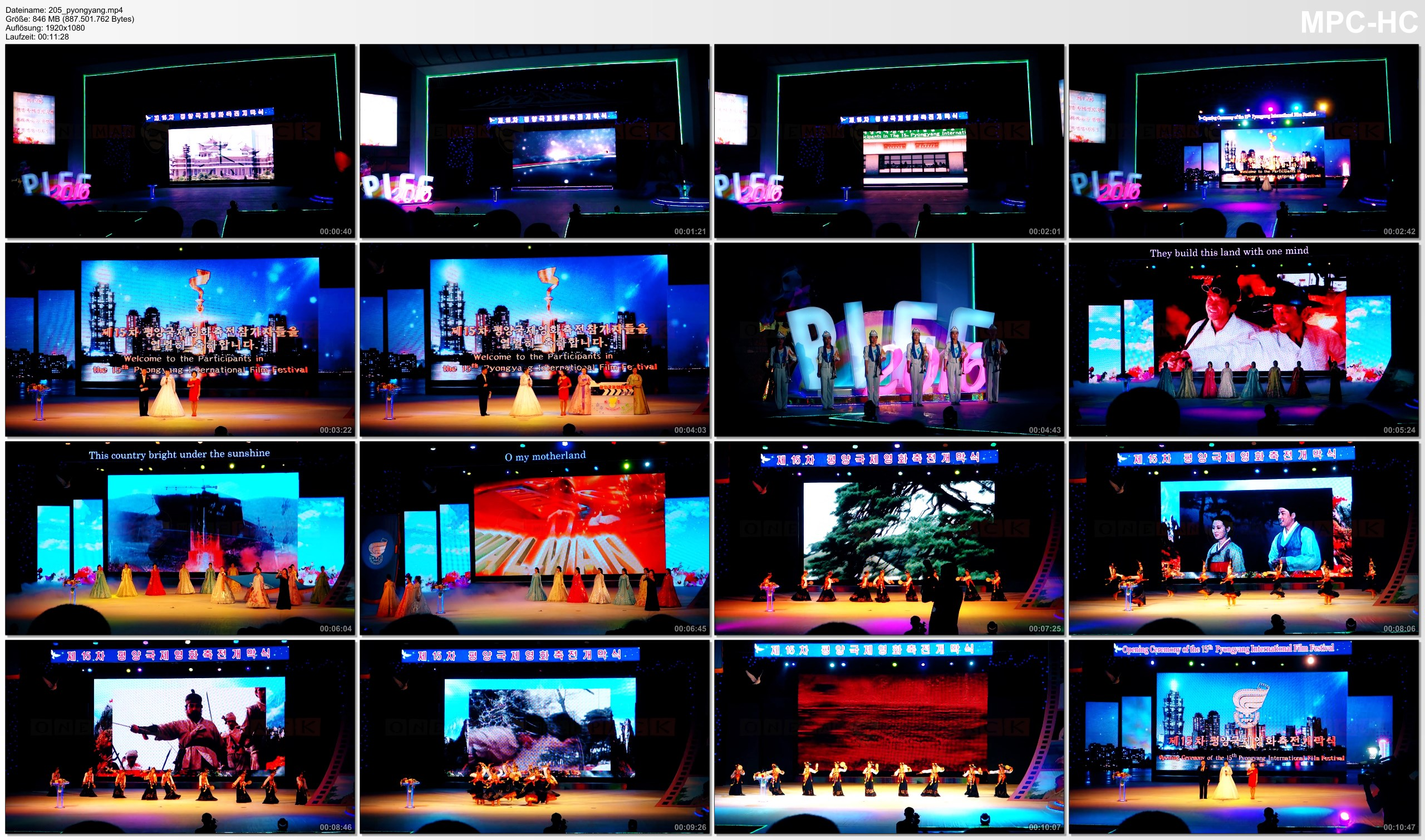 Pictures from Video 【1080p】Footage | Pyongyang International Film Festival PIFF 2016 @NORTH KOREA .: DPRK *TRAVEL VIDEO*