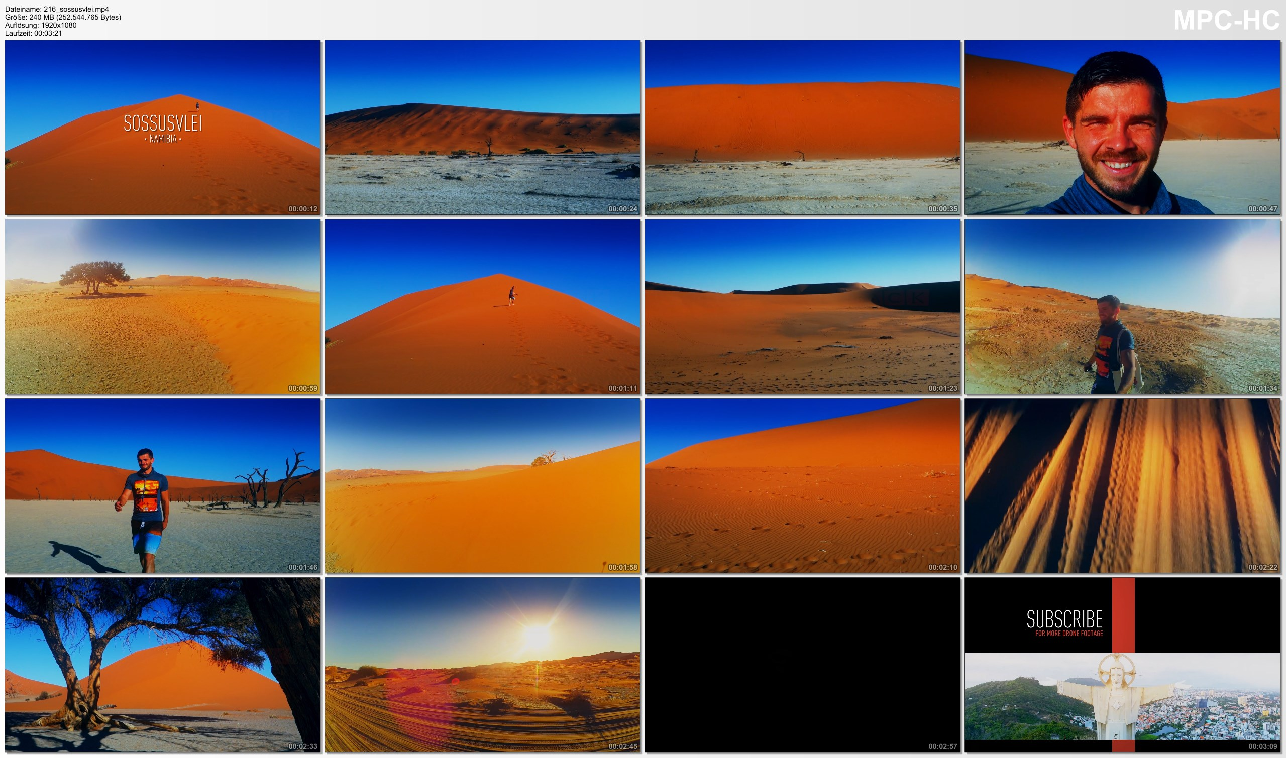 Pictures from Video 【1080p】Footage | Sossusvlei 2019 ..: Infamous Namib Desert | Dunes | Deadvlei NAMIBIA *TRAVEL VIDEO*