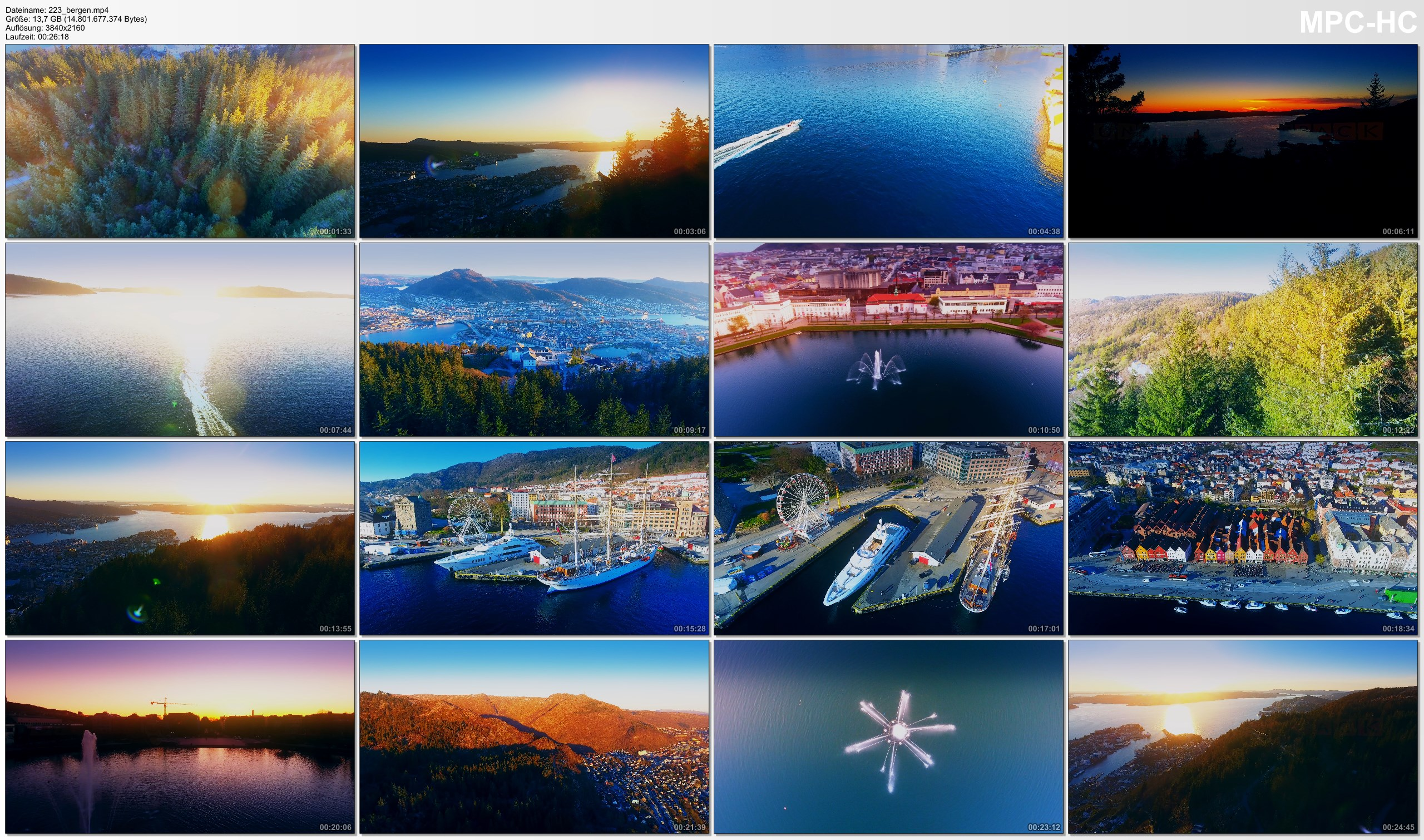 Drone Pictures from Video 【4K】Drone Footage | The Beauty of BERGEN in 27 Minutes 2019 | Cinematic Aerial Film | Norway