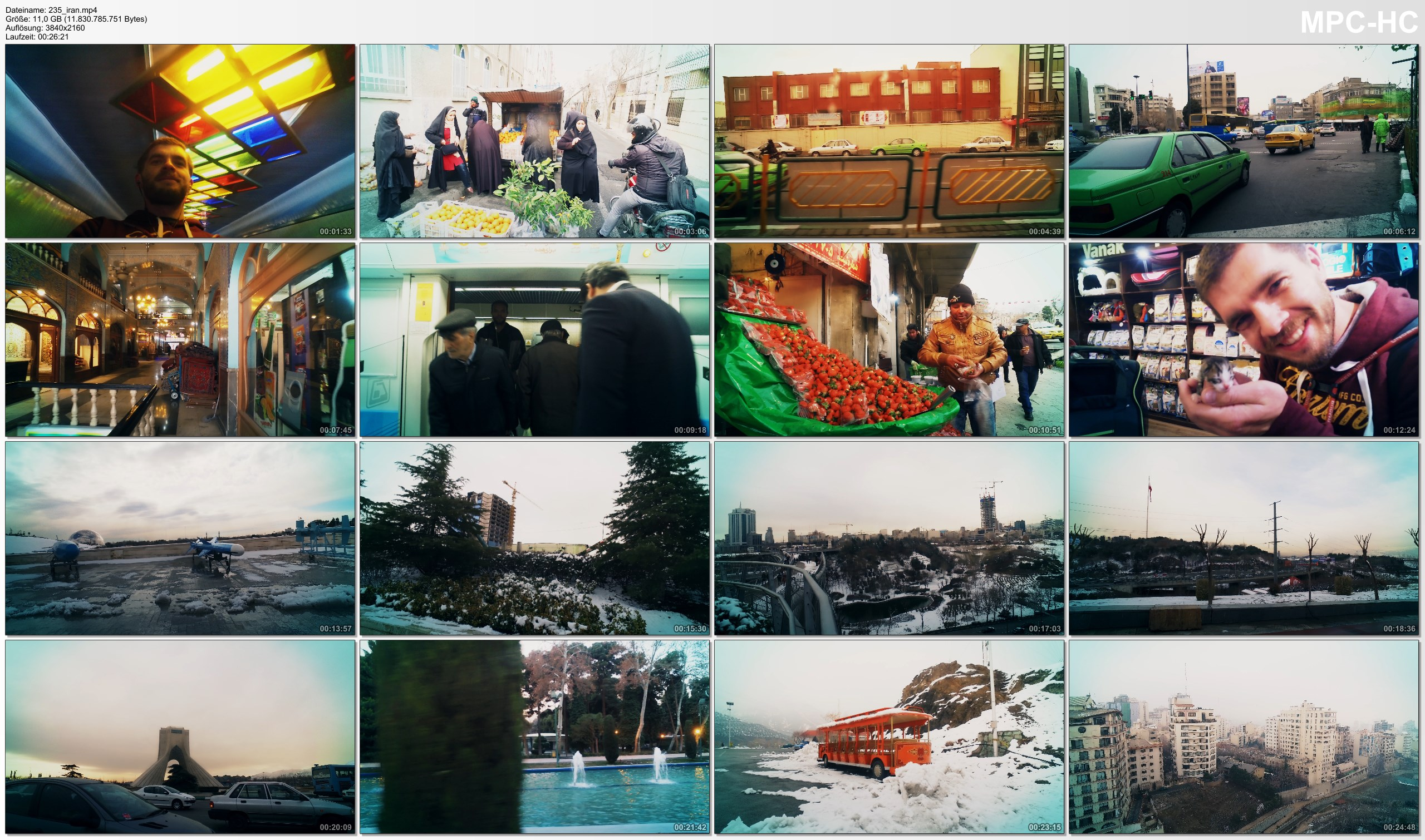 Pictures from Video 【4K】Footage | Street Scenes Of TEHRAN 2019 ..:: The Capital Of Iran *TRAVEL VIDEO* تهران ایران