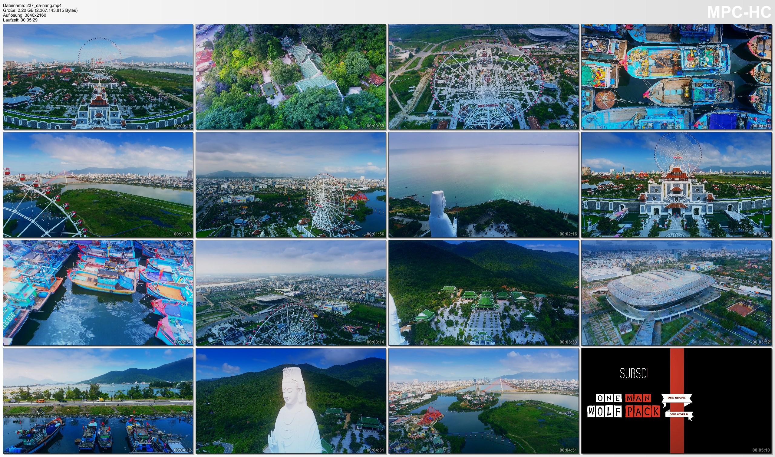 Drone Pictures from Video 【4K】Drone Footage | Da Nang - VIETNAM 2019 ..:: The Timeless Charm of Southeast Asia
