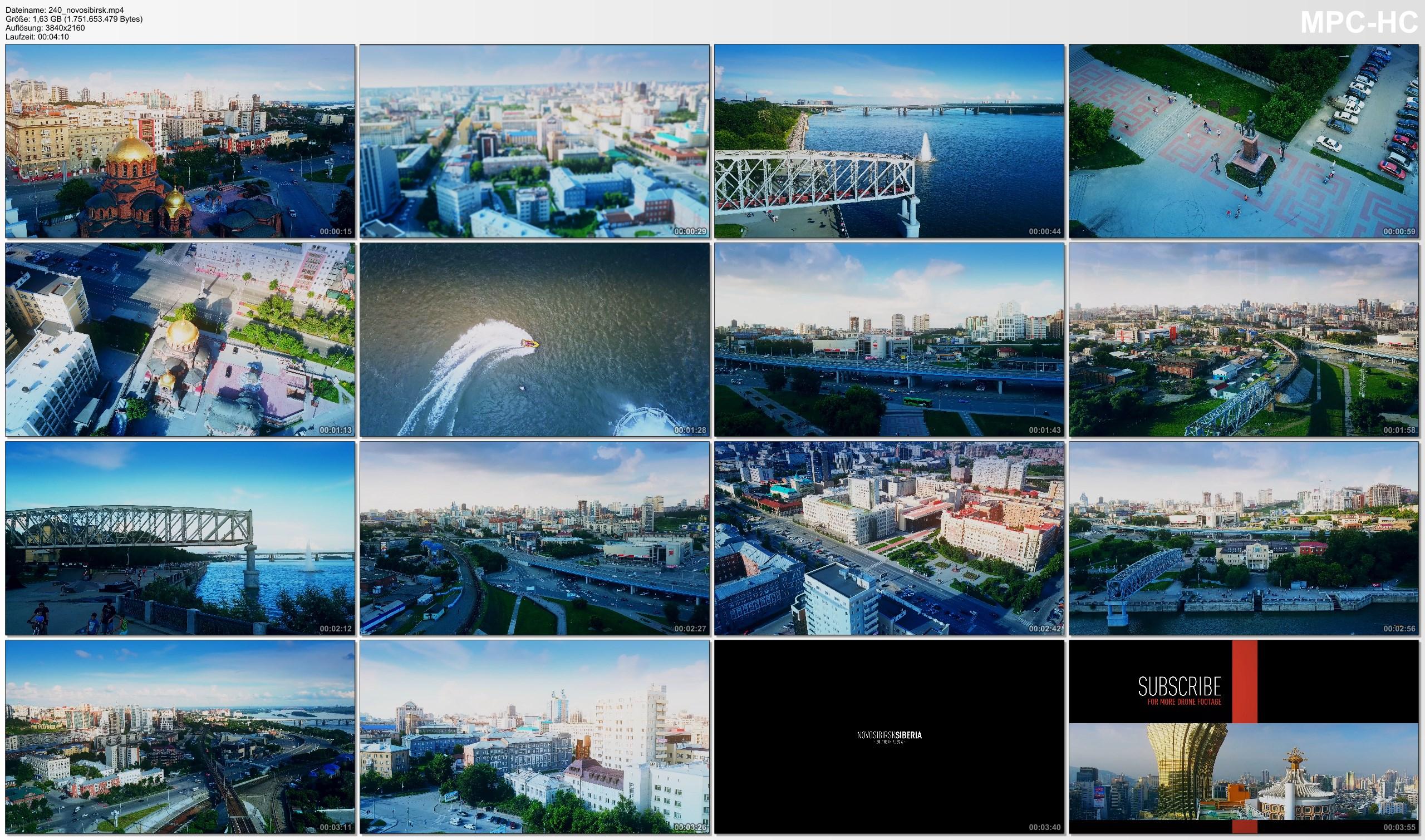 Drone Pictures from Video 【4K】Drone Footage | Novosibirsk - RUSSIA 2019 ..:: Siberias Marvellous Metropolis | Новосиби́рск