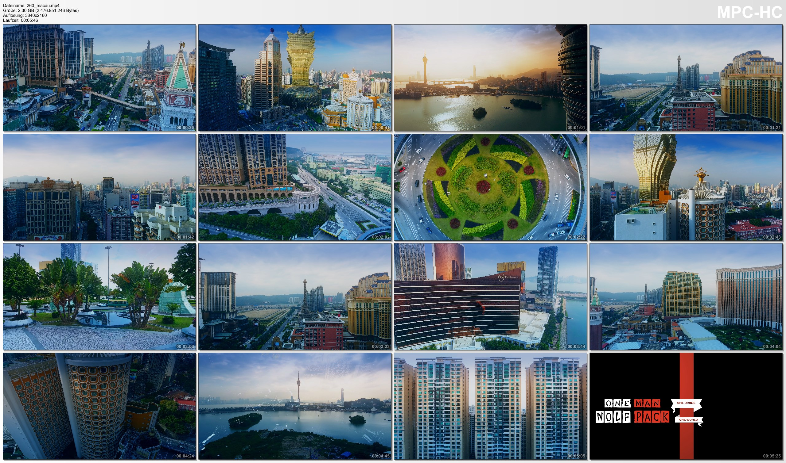 Drone Pictures from Video 【4K】Drone Footage | Macau - Las Vegas of Asia 2019 ..:: Cinematic Aerial Film
