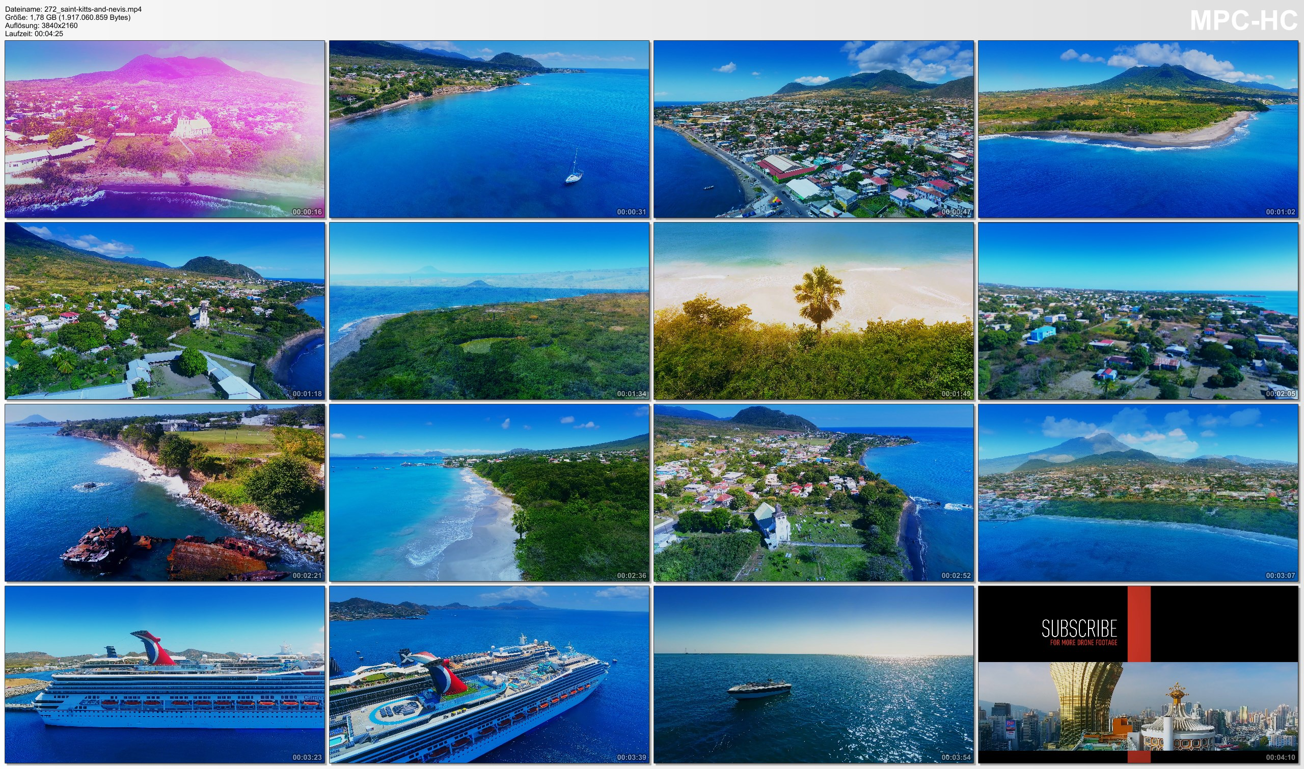 Drone Pictures from Video 【4K】Drone Footage | Saint Kitts and Nevis - Follow your Heart 2019 ..:: Cinematic Aerial Film