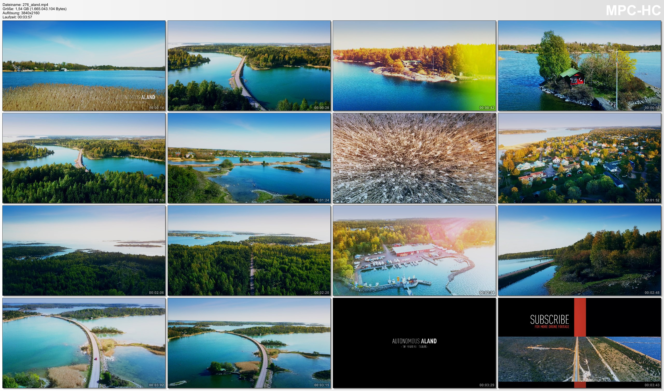 Drone Pictures from Video 【4K】Drone Footage | The Stunning ÅLAND ISLANDS ..:: Cinematic Aerial Film | Aland 2019