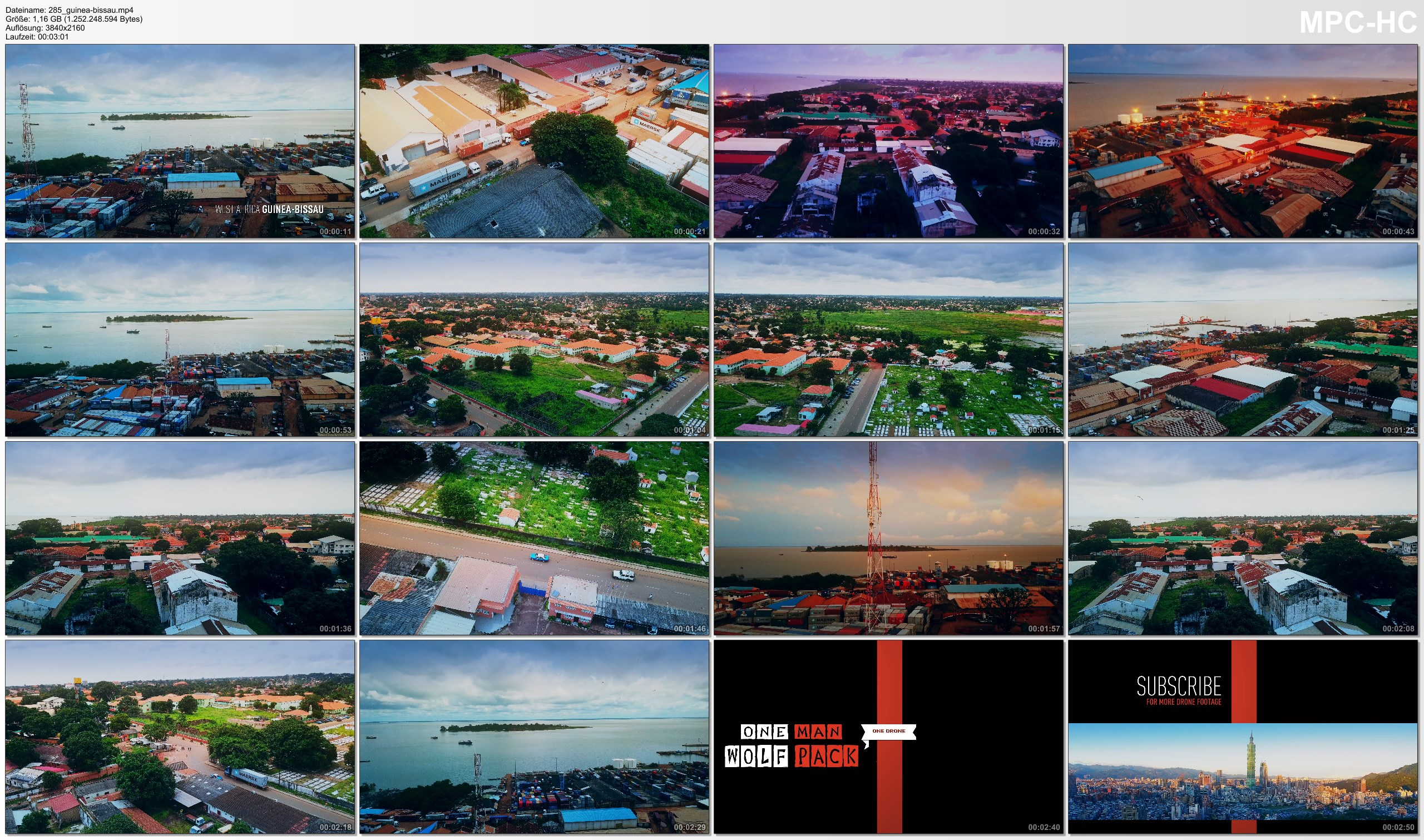 Drone Pictures from Video 【4K】Drone Footage | Visiting West Africa - GUINEA-BISSAU 2019 ..:: Cinematic Aerial Film