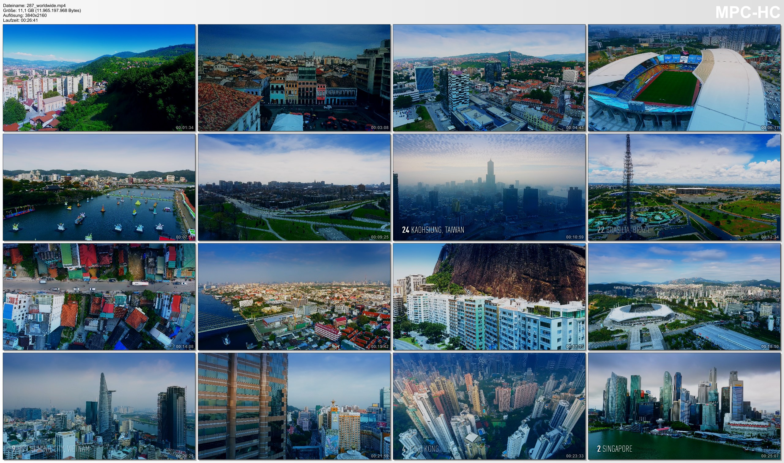 Drone Pictures from Video 【4K】Drone Footage | 45 Incredible SKYLINES OF THE WORLD 2019 ..:: Cinematic Aerial Film | Megacities