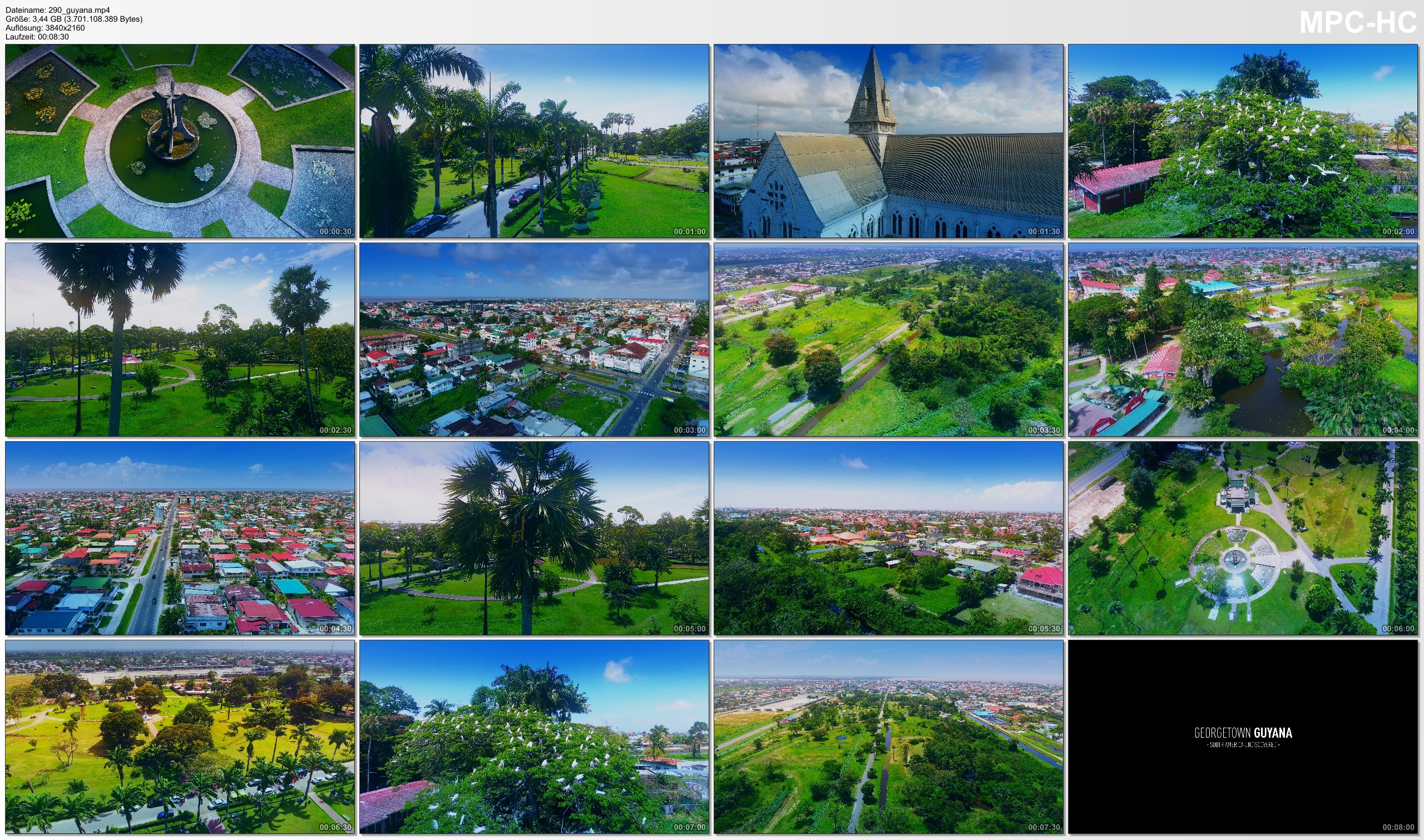 Drone Pictures from Video 【4K】Drone Footage | GUYANA - South America Undiscovered 2019 ..:: Cinematic Aerial Film | Georgetown