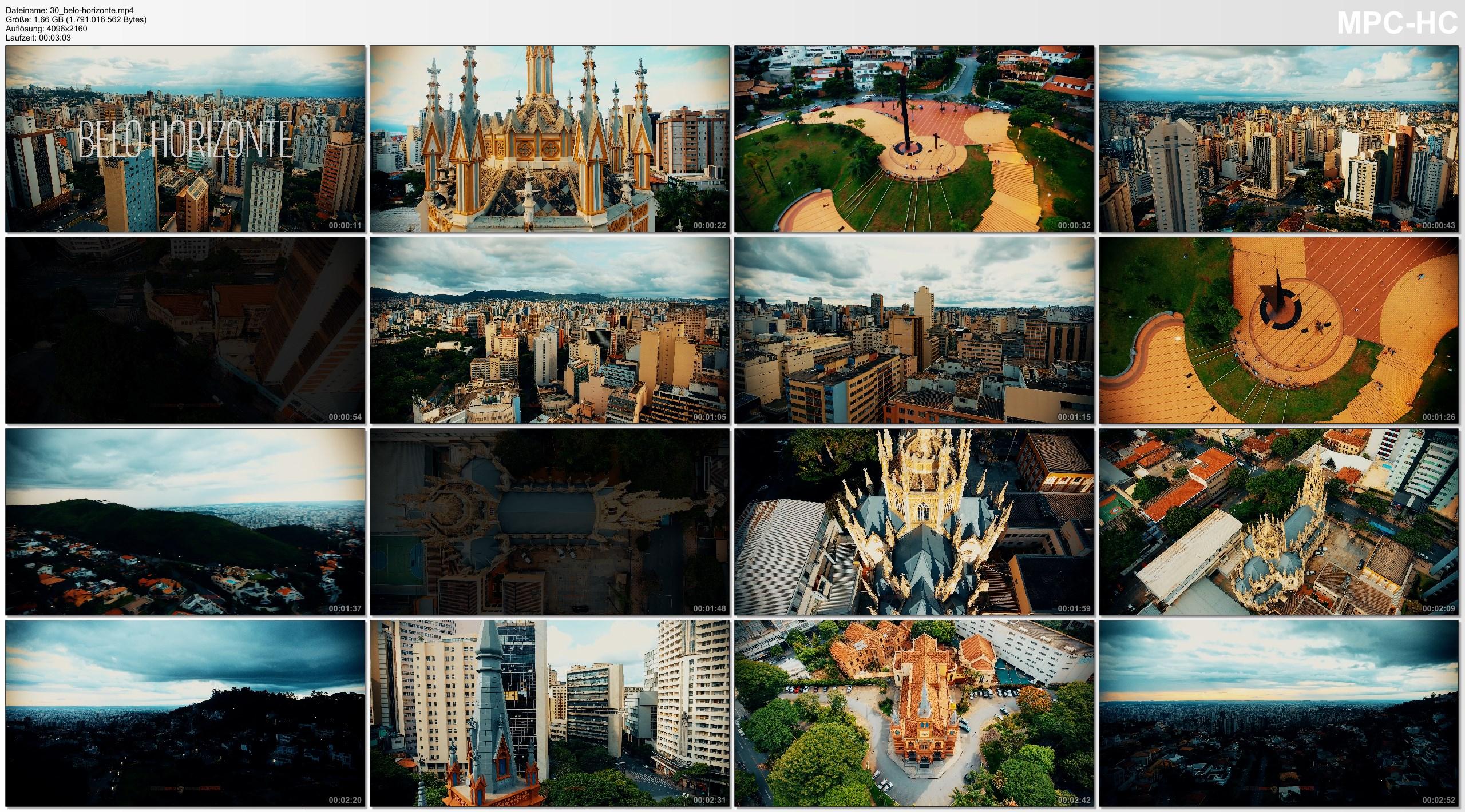 Drone Pictures from Video 4K Drone Footage BELO-HORIZONTE [DJI Phantom 4]