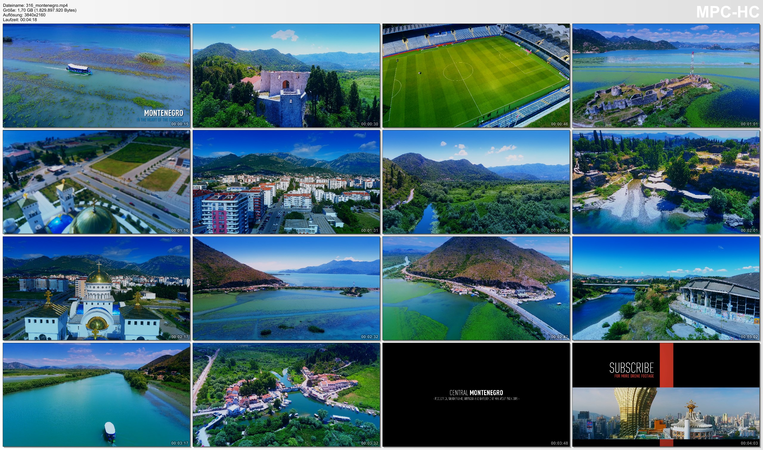 Drone Pictures from Video 【4K】Drone Footage | Central Montenegro - Podrogica | Skadar Lake | Virpazar | Bar | Cinematic Aerial