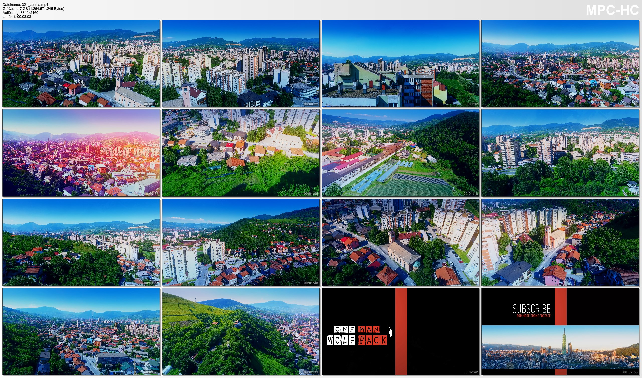 Drone Pictures from Video 【4K】Drone Footage   Zenica - City at the Bosnia River 2019 ..:: Cinematic Aerial Film   Herzegovina