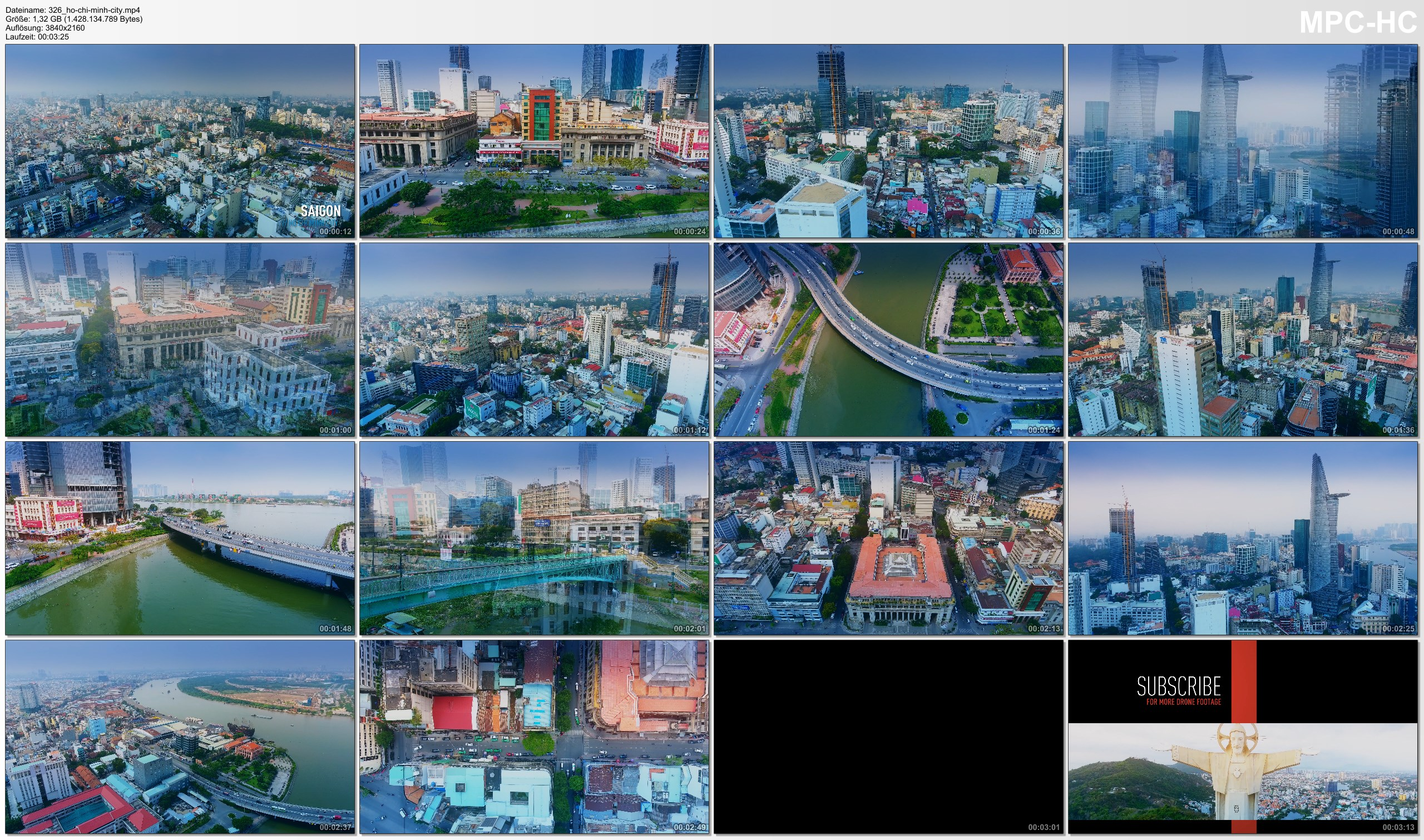 Drone Pictures from Video 【4K】Drone Footage | Ho Chi Minh City - Saigon Birds View | Vietnam 2019 | Cinematic Aerial HCMC Film