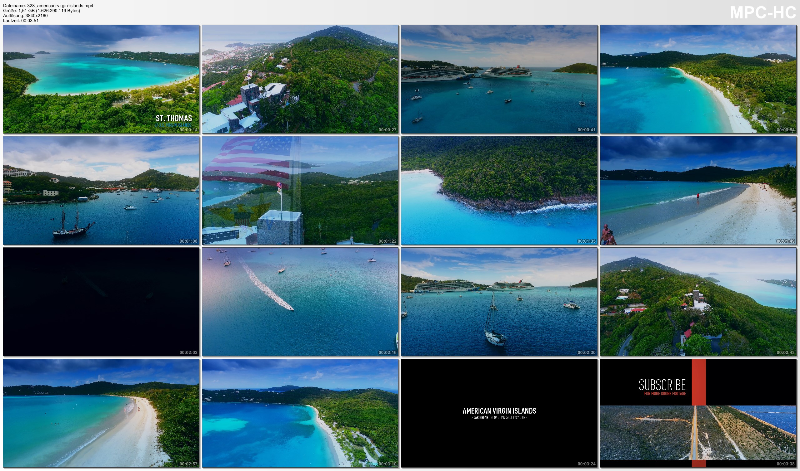 Drone Pictures from Video 【4K】Drone Footage | U.S. Virgin Islands - Caribbeans Findest USVI 2019 | Cinematic Aerial St. Thomas