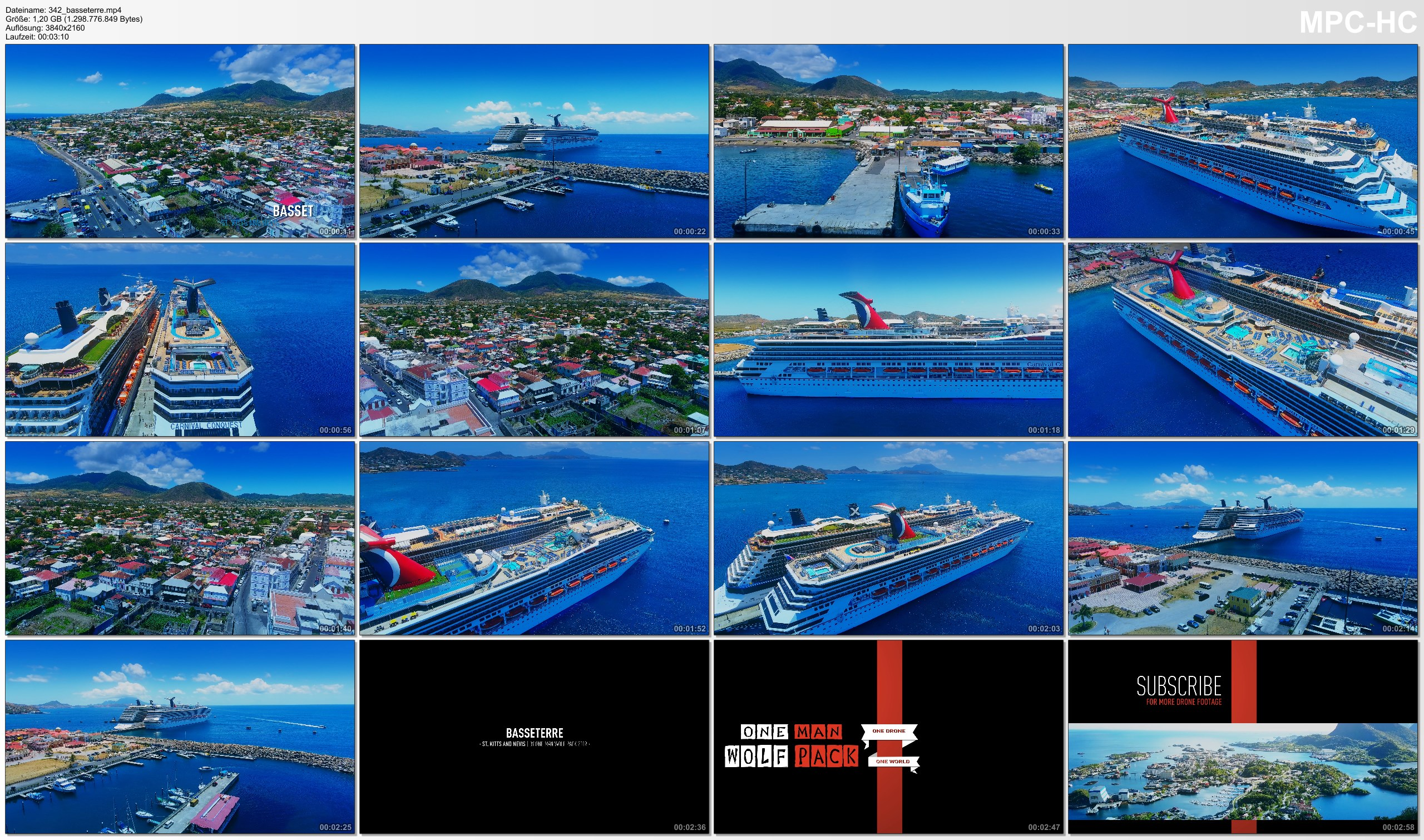 Drone Pictures from Video 【4K】Drone Footage | Basseterre - Capital of Saint Kitts and Nevis 2019 ..:: Cinematic Aerial Film