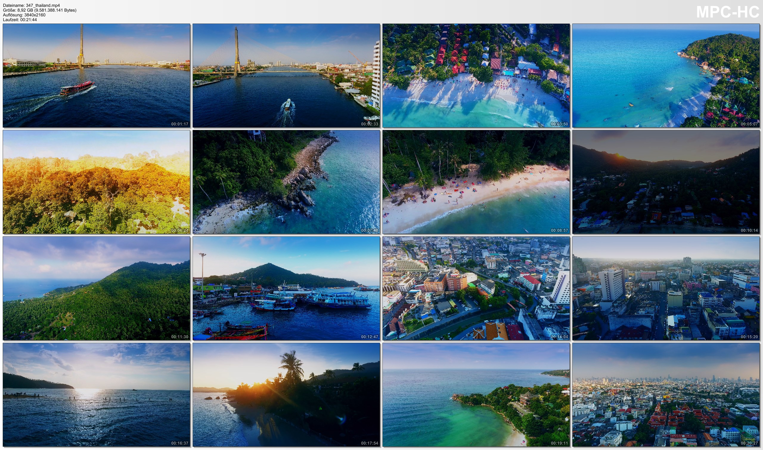 Drone Pictures from Video 【4K】Drone Footage | The Beauty of Thailand in 22 Minutes 2019 | Cinematic Aerial Bangkok Koh Phangan