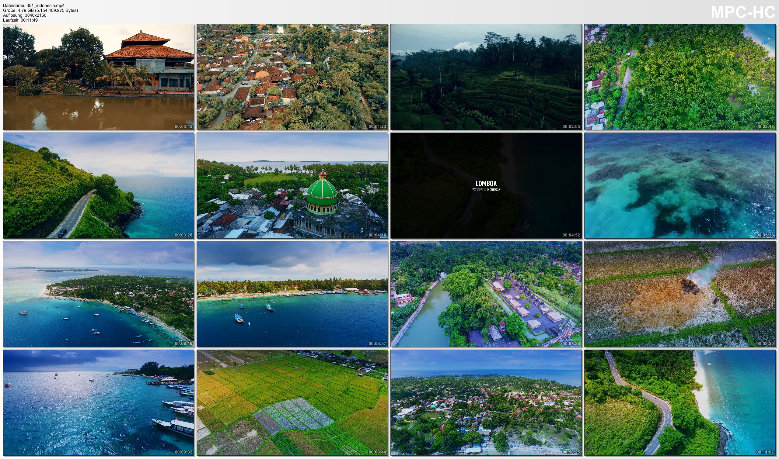 Drone Pictures from Video 【4K】Drone Footage | The Beauty of Indonesia in 12 Minutes 2019 | Cinematic Aerial Bali Lombok Gilis
