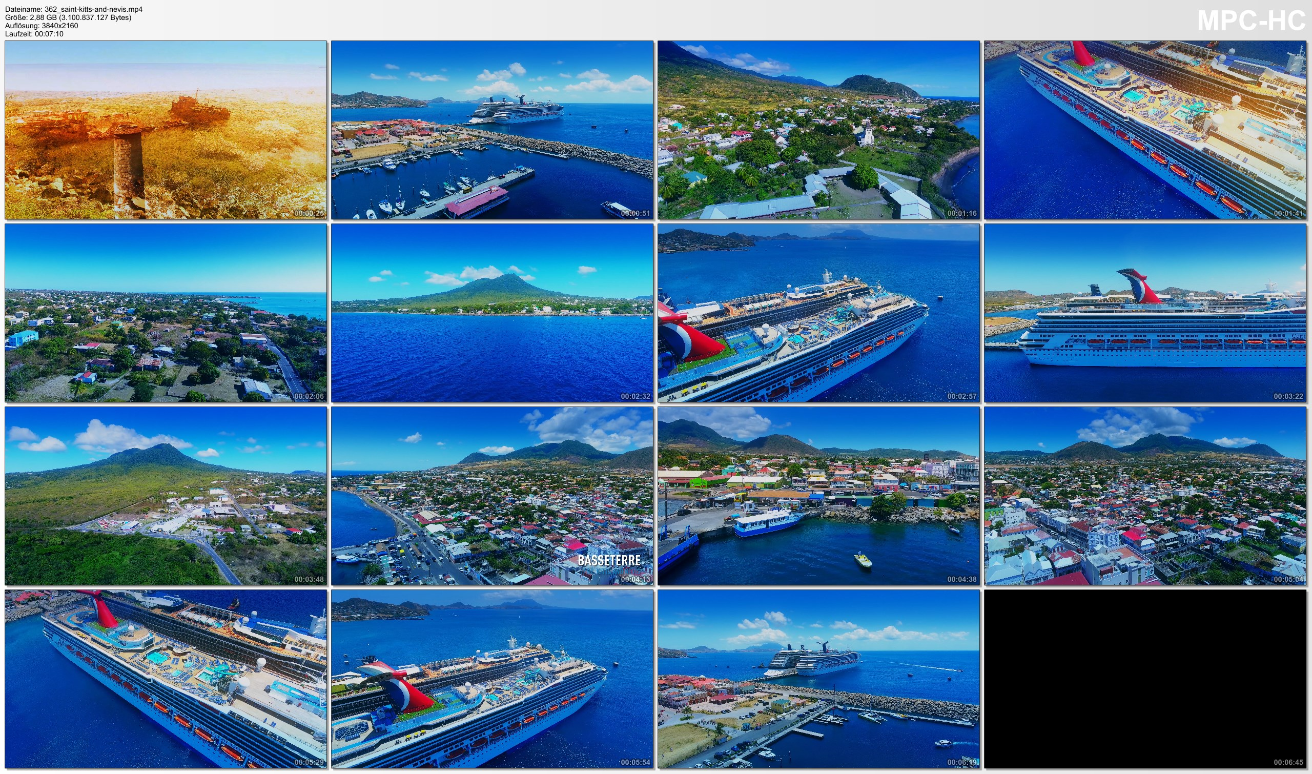 Drone Pictures from Video 【4K】Drone Footage | The Beauty of Saint Kitts and Nevis in 8 Minutes 2019 | Cinematic Aerial Caribe