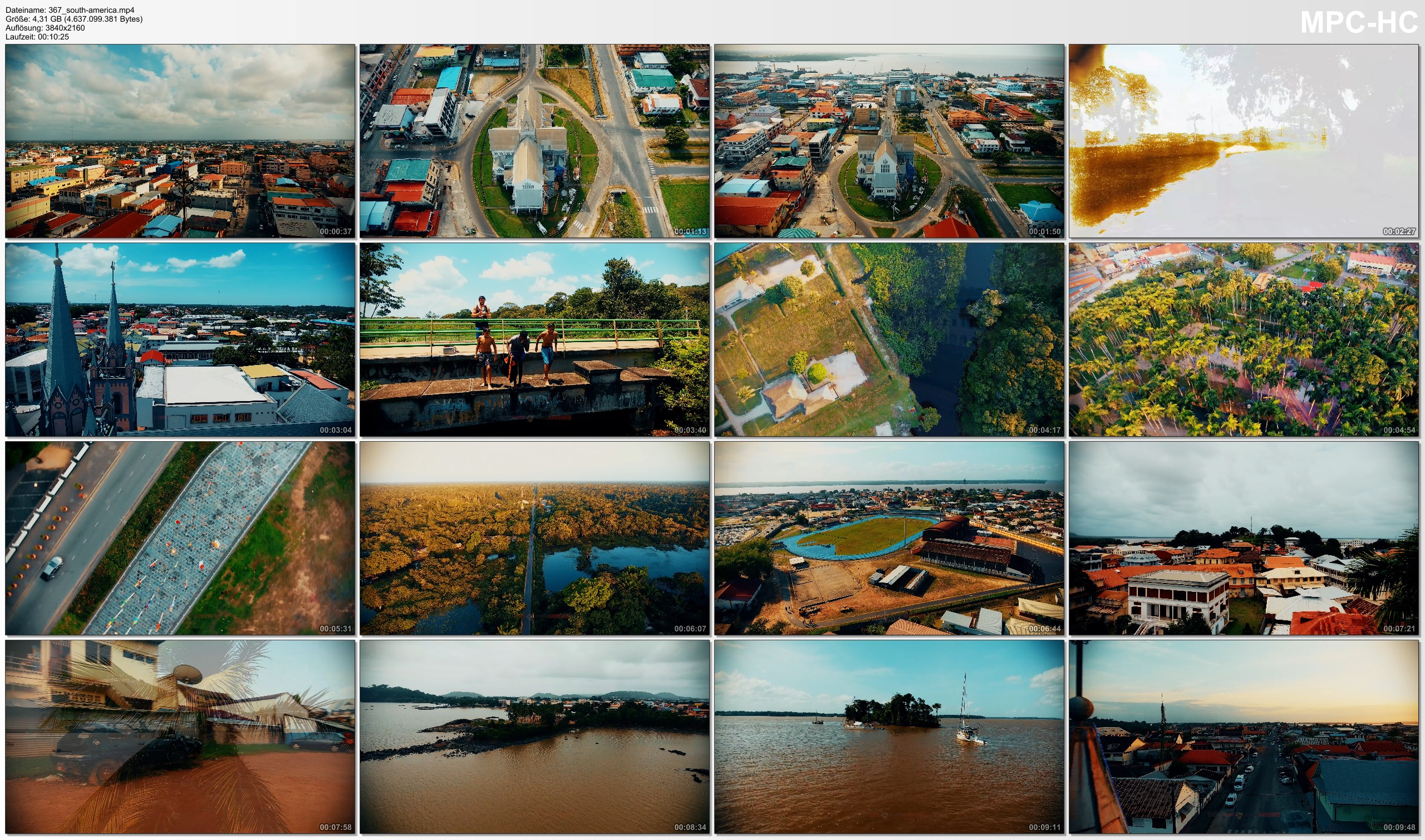 Drone Pictures from Video 【4K】Drone Footage | The Beauty of The Guianas in 11 Minutes 2019 | Cinematic Aerial French Guyana SR