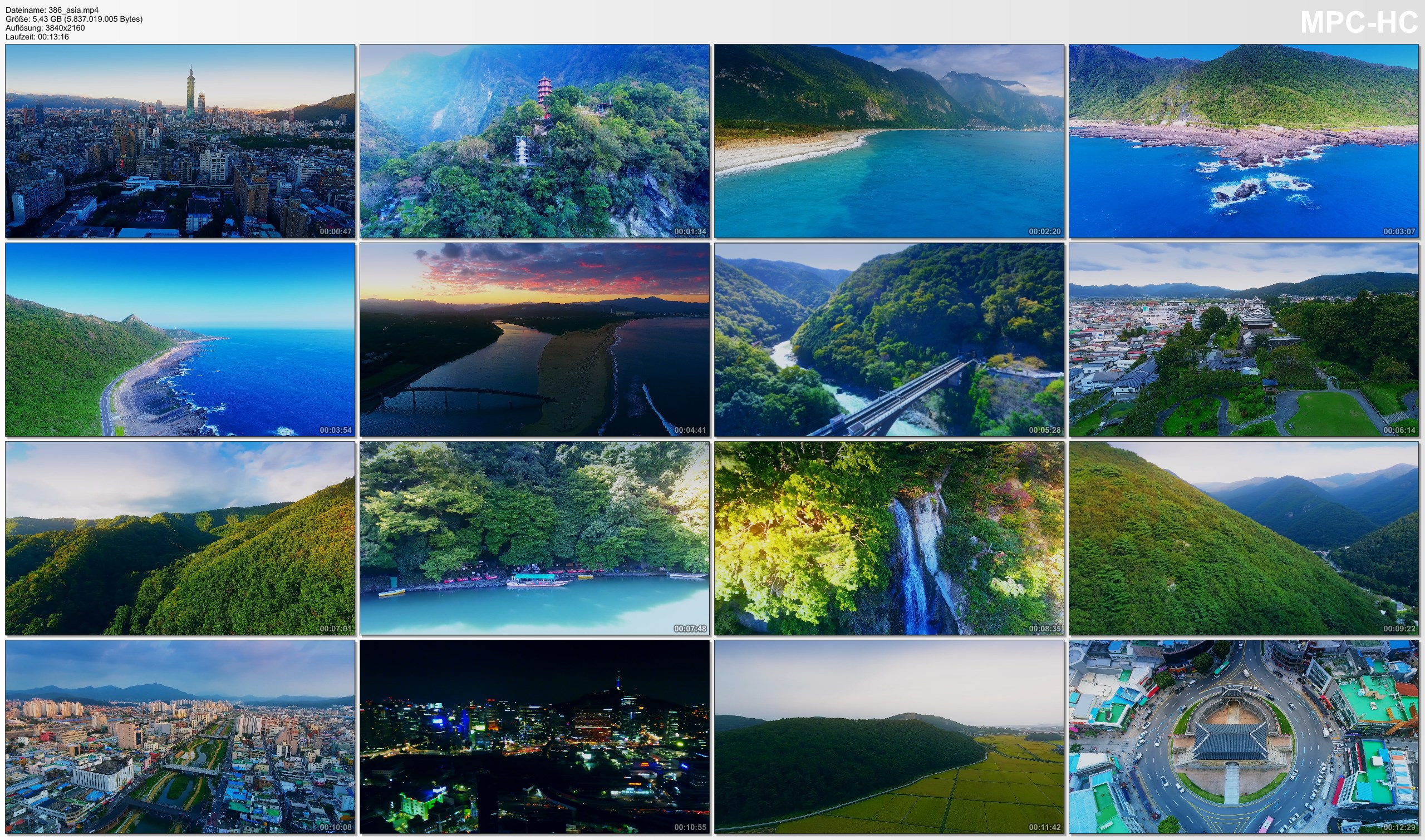 Drone Pictures from Video 【4K】Drone Footage | Beauty of EAST ASIA 2019 | Taiwan X Japan X South Korea .: Cinematic Aerial Film