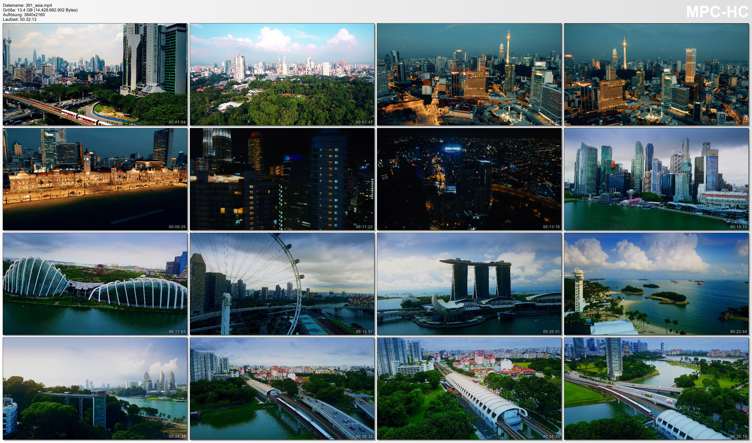 Drone Pictures from Video 【4K】Drone Footage | Kuala Lumpur X Singapore *EXTENDED* Southeast Asia 2019 | Cinematic Aerial Film
