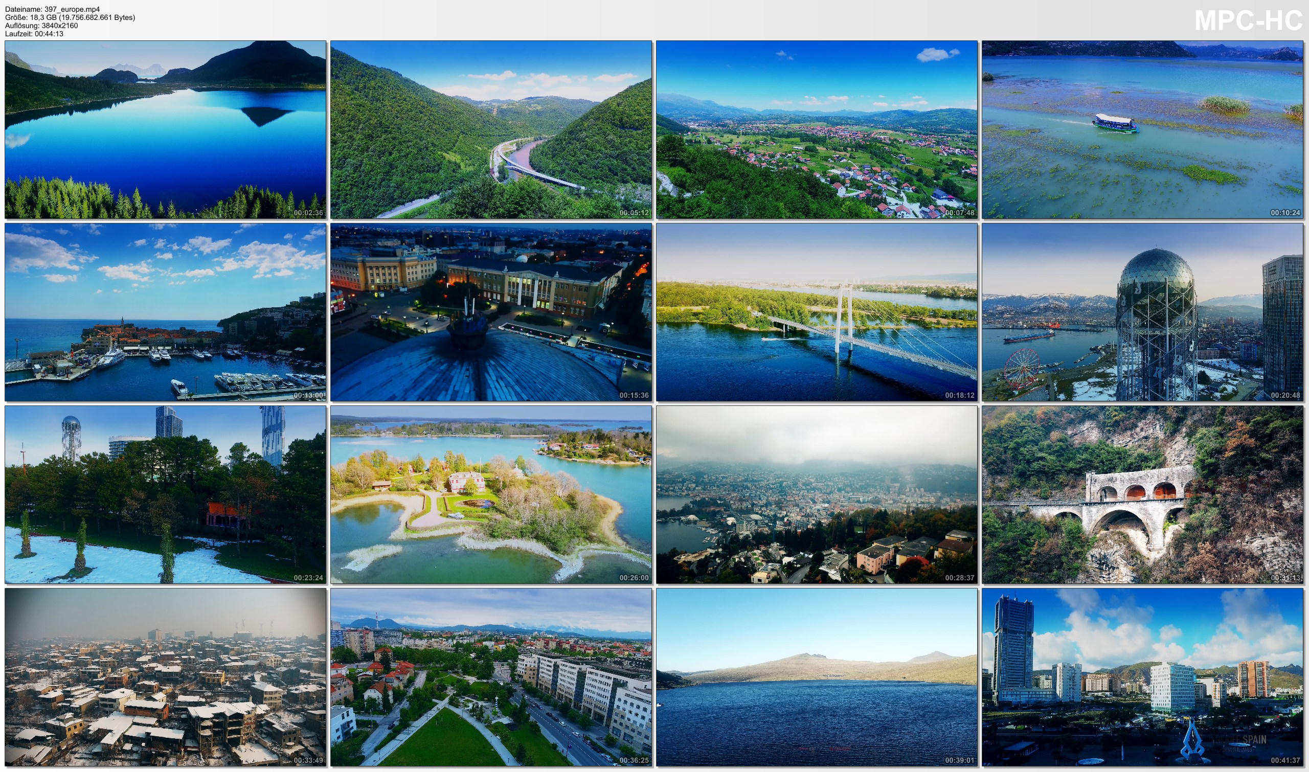 Drone Pictures from Video 【4K】Drone Footage | The Beauty of EUROPE in 45 Minutes 2019 | Cinematic Aerial Film