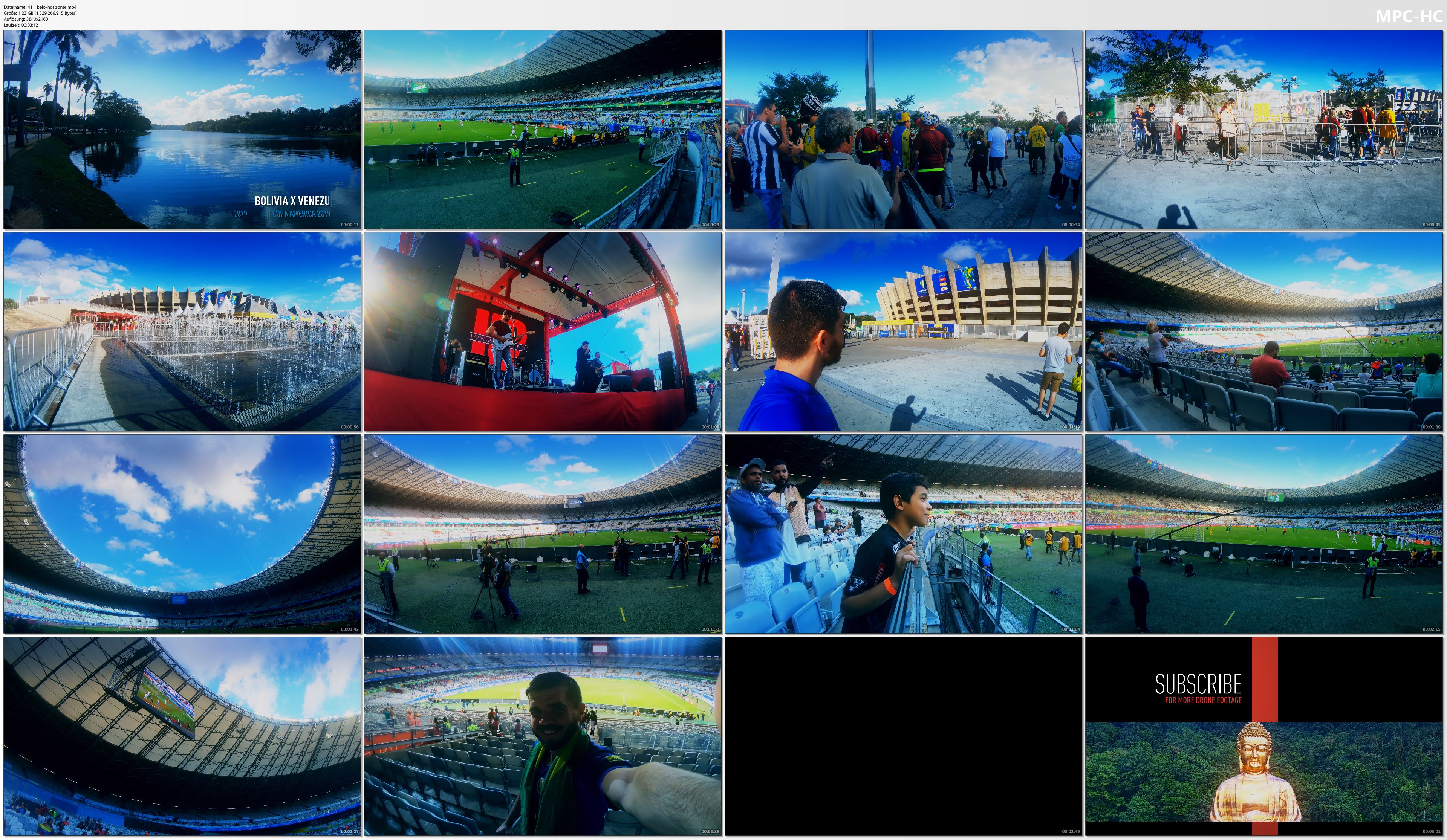 Pictures from Video 【4K】Groundhopping | Bolivia X Venezuela [1 x 3] 2019-06-22 | COPA AMERICA | Mineirao, Belo Horizonte