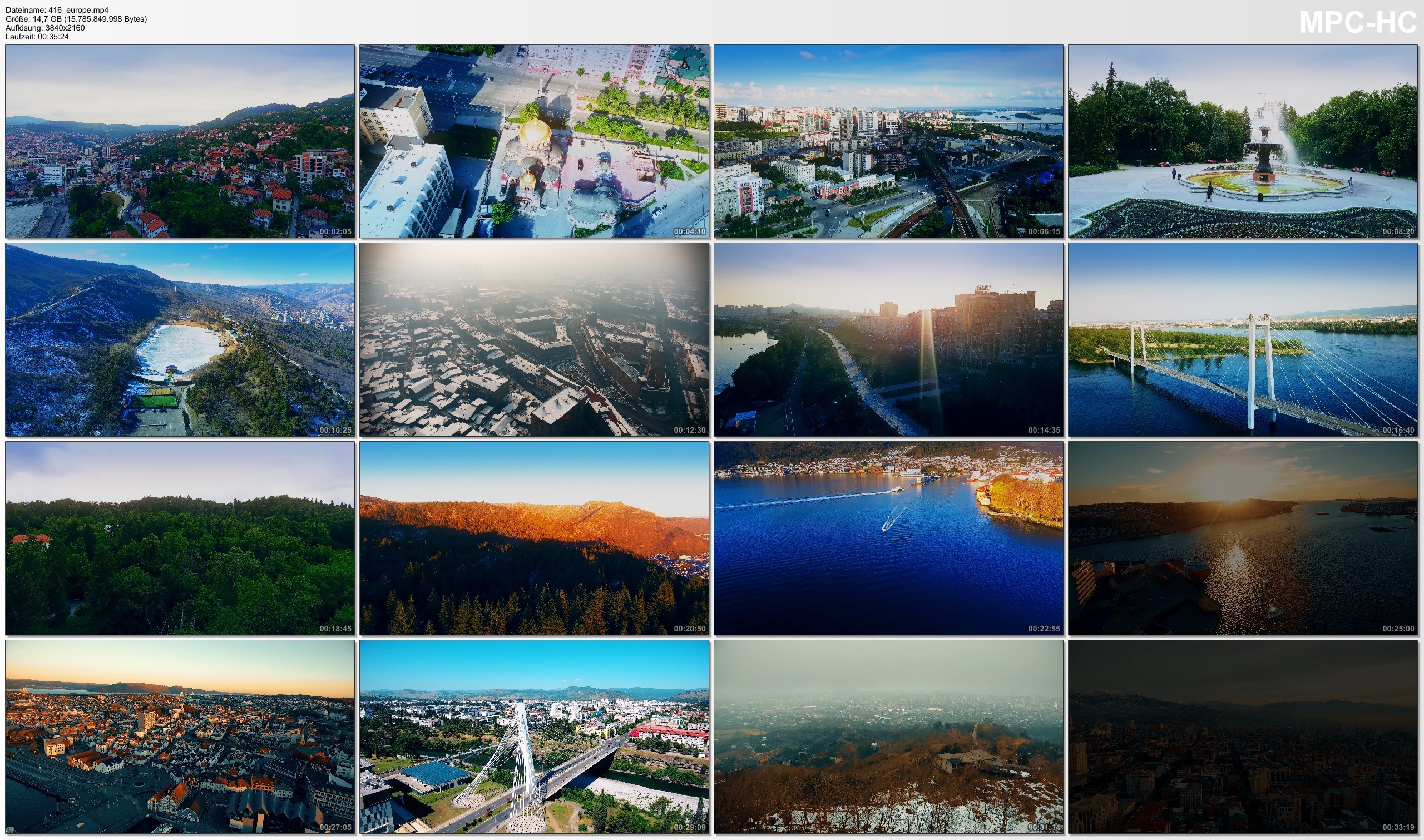 Drone Pictures from Video 【4K】Drone Footage | 11 MEGACITIES of Europe 2019 ..:: Cinematic Aerial Film