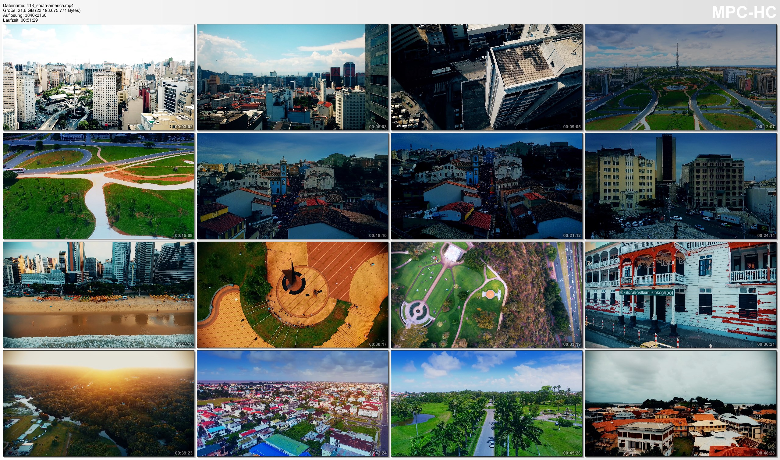 Drone Pictures from Video 【4K】Drone Footage | 11 MEGACITIES of South America and Oceania 2019 ..:: Cinematic Aerial Film