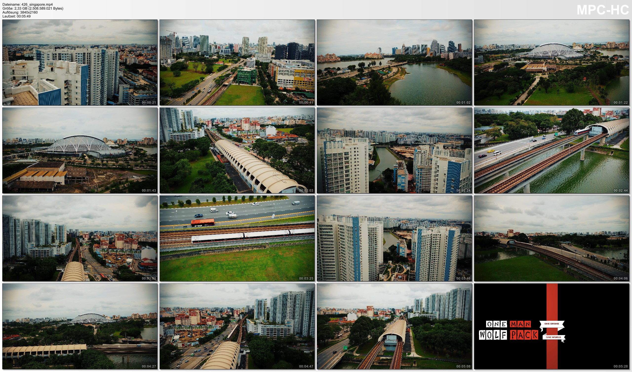 Drone Pictures from Video 【4K】Drone Footage | Kallang MRT and Lion City Skyline - SINGAPORE 2019 ..:: Cinematic Aerial Film